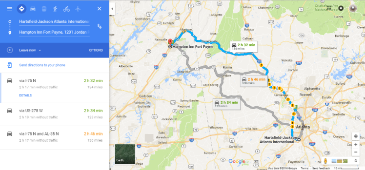 google-map-atlanta-to-fort-payne-al
