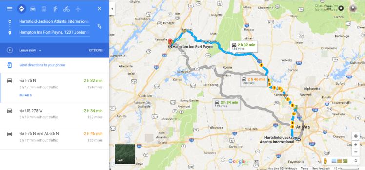 google-map-atlanta-to-fort-payne-al