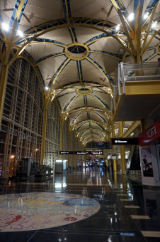 March 28, 2017: Reagan National Airport - Morning.